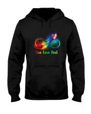 Caregiver: Live Love Heal Hooded Sweatshirt thumbnail