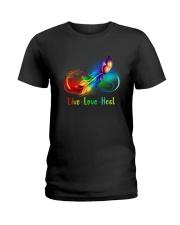 Caregiver: Live Love Heal Ladies T-Shirt front