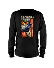 Proud Electrician Long Sleeve Tee tile