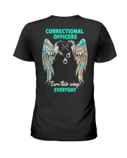 Correctional Officers earn their wings everyday Ladies T-Shirt tile