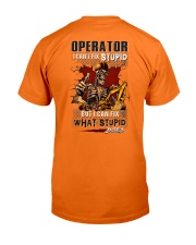 Operator: I can fix what stupid does Classic T-Shirt thumbnail