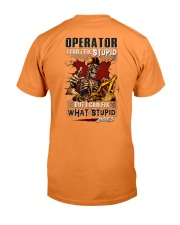 Operator: I can fix what stupid does Premium Fit Mens Tee thumbnail