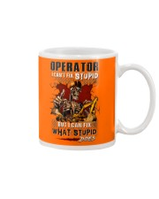 Operator: I can fix what stupid does Mug tile
