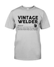Vintage Welder Classic T-Shirt front