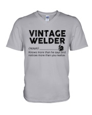 Vintage Welder V-Neck T-Shirt thumbnail