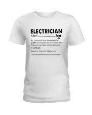 Electrician dictionary Ladies T-Shirt thumbnail