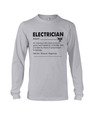 Electrician dictionary Long Sleeve Tee thumbnail