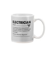 Electrician dictionary Mug tile
