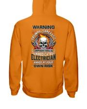 Sarcastic Electrician Hooded Sweatshirt tile