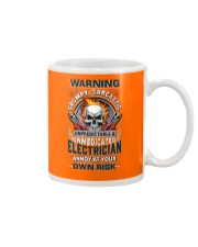 Sarcastic Electrician Mug tile