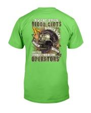 Strongest men become Operators Classic T-Shirt back