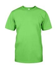 Strongest men become Operators Classic T-Shirt front