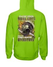 Strongest men become Operators Hooded Sweatshirt thumbnail