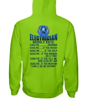Electrician Hourly rates Hooded Sweatshirt thumbnail