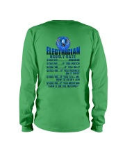 Electrician Hourly rates Long Sleeve Tee thumbnail