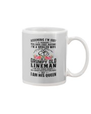 Lineman's Wife: I am his Queen Mug tile