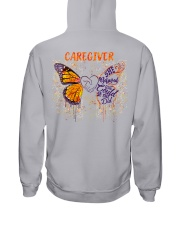 Caregiver She believed she could so she did Hooded Sweatshirt tile