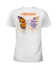 Caregiver She believed she could so she did Ladies T-Shirt tile