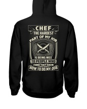 Chef: Hardest part of my job Hooded Sweatshirt thumbnail