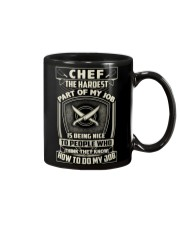 Chef: Hardest part of my job Mug thumbnail
