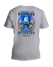 Until the real Operator shows up V-Neck T-Shirt thumbnail