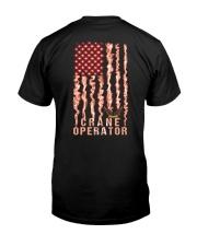 Proud Crane Operator Classic T-Shirt back