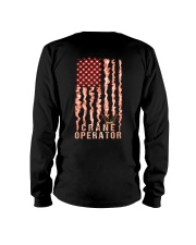 Proud Crane Operator Long Sleeve Tee thumbnail