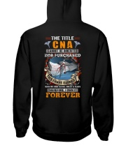The Title CNA Own it Forever Hooded Sweatshirt back