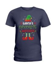 Santa's Favorite Bartender Ladies T-Shirt thumbnail
