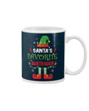 Santa's Favorite Bartender Mug thumbnail