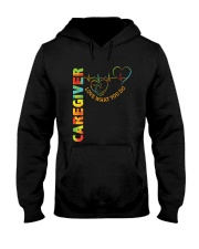 Caregiver: Love what you do Hooded Sweatshirt tile