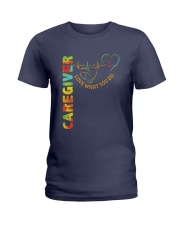 Caregiver: Love what you do Ladies T-Shirt front