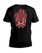 Lineman's Prayer V-Neck T-Shirt thumbnail