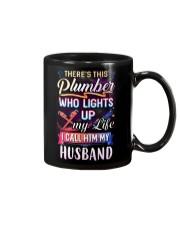 There's this Plumber who lights up my life Mug thumbnail