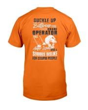 Crane Operator: Serious dislike for Stupidity Classic T-Shirt thumbnail