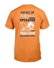 Crane Operator: Serious dislike for Stupidity Premium Fit Mens Tee thumbnail