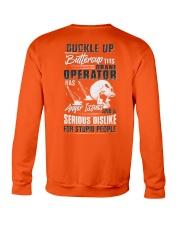 Crane Operator: Serious dislike for Stupidity Crewneck Sweatshirt thumbnail