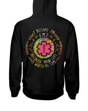 EMT because it is worth my time Hooded Sweatshirt thumbnail