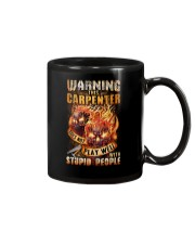 Carpenter: Warning for Stupid People Mug thumbnail