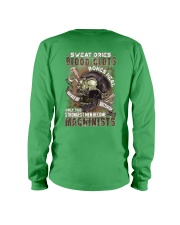 Strongest men become Machinists Long Sleeve Tee thumbnail