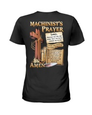 Machinist's Prayer Ladies T-Shirt tile