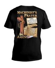 Machinist's Prayer V-Neck T-Shirt tile