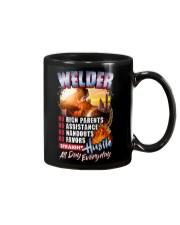 Welder: Straight hustle all day every day Mug tile