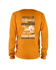 Forklift Operator: Serious dislike for Stupidity Long Sleeve Tee thumbnail