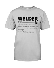 Welder dictionary Classic T-Shirt front