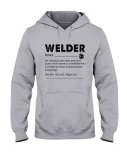 Welder dictionary Hooded Sweatshirt thumbnail