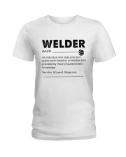 Welder dictionary Ladies T-Shirt thumbnail
