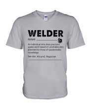 Welder dictionary V-Neck T-Shirt thumbnail