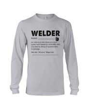Welder dictionary Long Sleeve Tee thumbnail