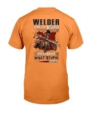 Welder: I can fix what stupid does Premium Fit Mens Tee tile